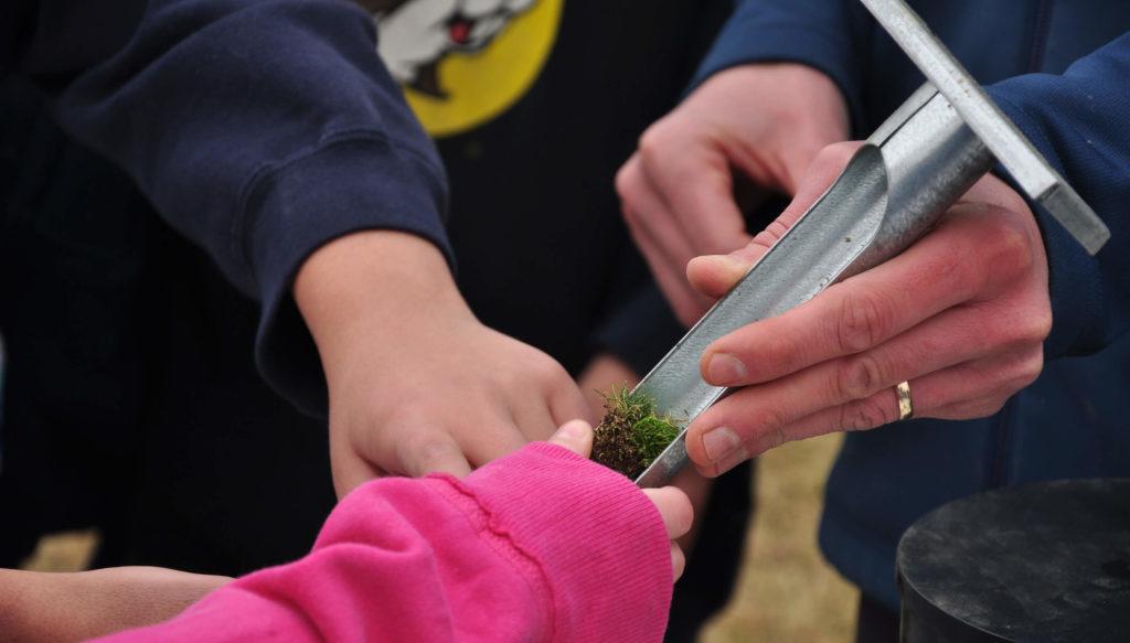 Checking Soil STEM | Become a Friend | First Green | A GCSAA Program