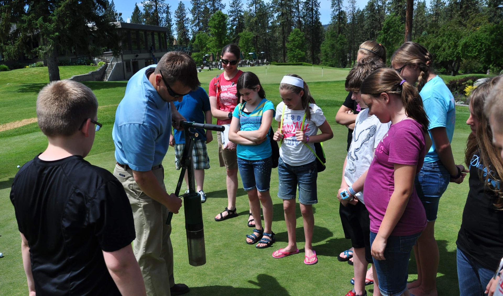 First Green Field Trip Golf Course Superintendent | First Green A GCSAA Program