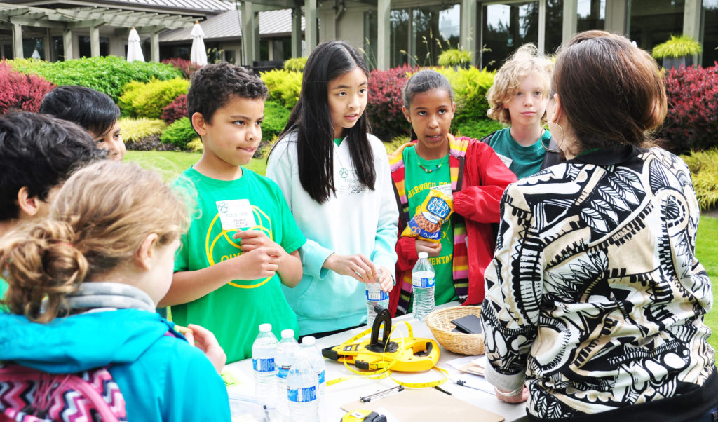 Spanish STEM Field Trip on the Golf Course   First Green News