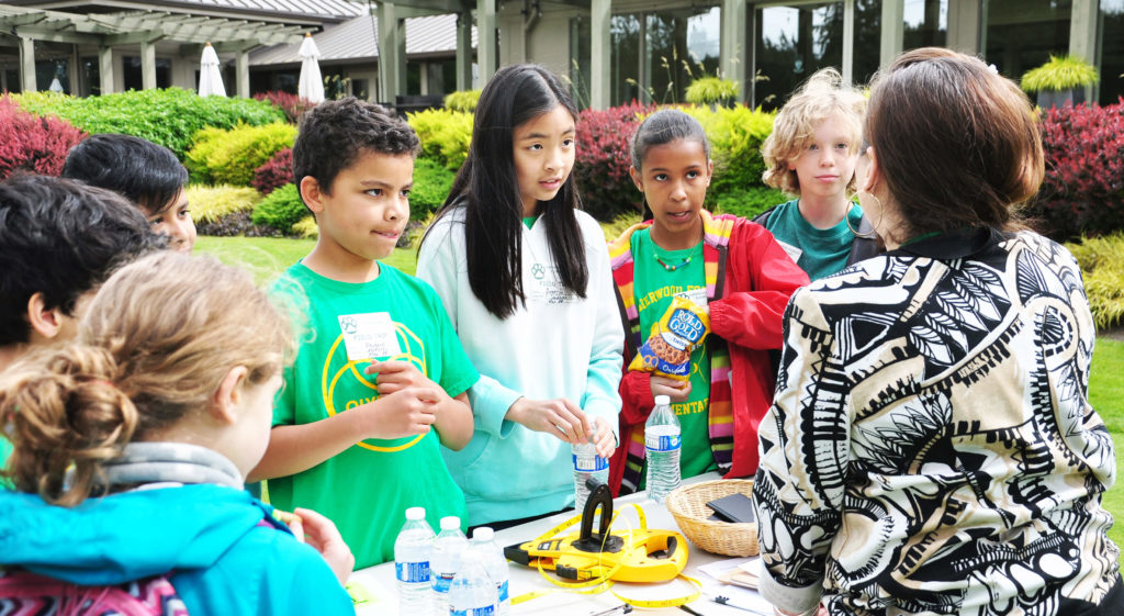 Spanish STEM Field Trip on the Golf Course | First Green News